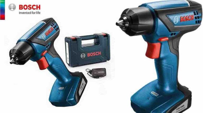 Bosch GSR 1000 Cordless and driver