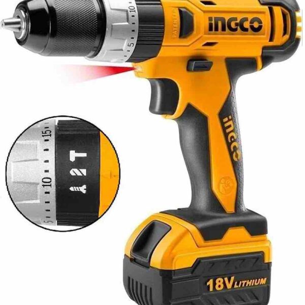 Ingco mpact Drill 18V INGCO CIDLI228180