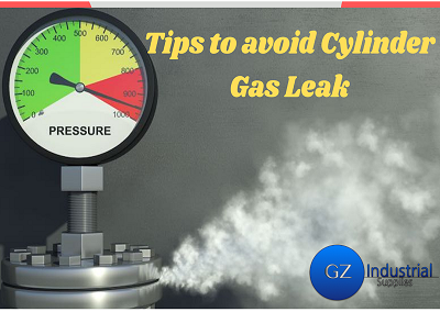 Cylinder Gas Leak Banner